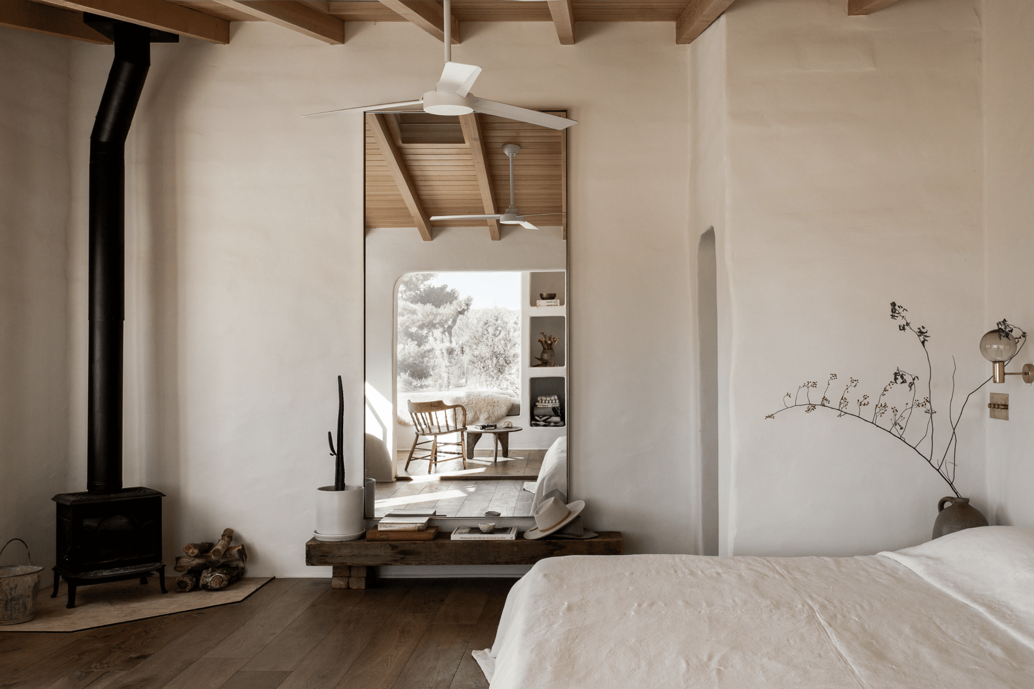 The Desert Adobe Featuring Softness And Simplicity!